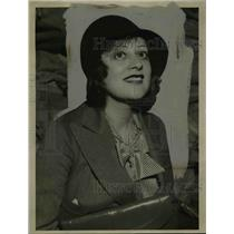1938 Press Photo Actress Lenore Ulric Portrait - nef41676