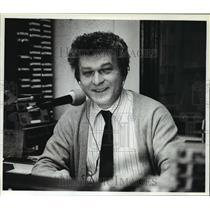 1983 Press Photo Ron Krauss Host of Neighbor to Neighbor Radio Call In Show