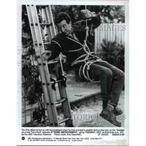 1991 Press Photo Tim Allen in Home Improvement over on ABC Television