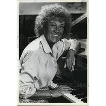 "1981 Press Photo Marian McPartland the ""first lady of jazz"" - oro02285"