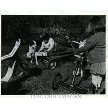 1976 Press Photo Oregon Educational and Public Broadcasting Service,Jeremy Inman