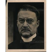 1919 Press Photo Rev Charles Burch Head of Episcopal Church in New York