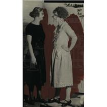 1922 Press Photo Fashion Models - nef37946