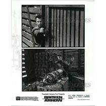 1995 Press Photo John Travolta is Stealth pilot Vic Deakins in Broken Arrow
