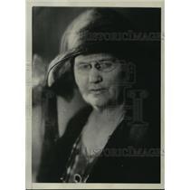 1930 Press Photo Mrs. Belle La Follette, Widow of Wisconsin Senator - mja41202