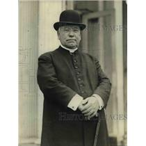 1923 Press Photo Cardinal William Henry O'Connor at White House - nef45565