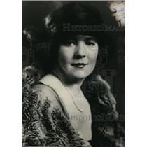 1923 Press Photo Anne Dolan Physical Culture Expert - nef48136