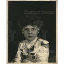 1924 Press Photo Boy Raymond Baird of Salt Lake City - nef47813