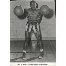 1958 Press Photo Jack Fitzpatrick guard Harlem Globetrotters Basketball