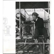 1912 Press Photo Jess Brabazon piloted the Wright model B plane. - mjx21594