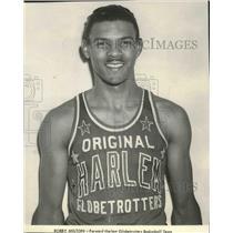1985 Press Photo Bobby Milton forward Harlem Globetrotters Basketball Team