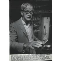 1969 Press Photo Max Delbrueck Nobel Prize winner for physiology and medicine
