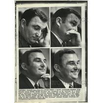 1969 Press Photo Chiefs coach Henry Stram for Super Bowl vs Vikings - lfx00406