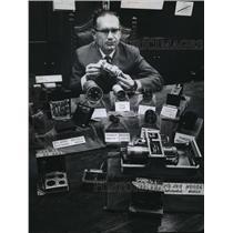 1961 Press Photo N.K. Zelazo, President of Astronautics Corporation of America