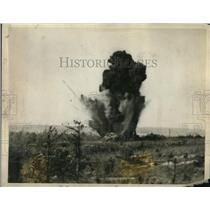1926 Press Photo New 155mm Shell Tested On French Tank - ned77092