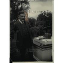 1922 Press Photo Dr. Joseph Redlich, Austrian Diplomat - nef34262