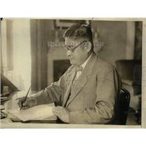 1924 Press Photo Isaburo Yoshida Counselor & Charge D'Affairs of Japan Embassy