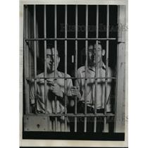 1934 Press Photo Jack Durban, Wesley Carty, Reporters Jailed Daily in Kentucky