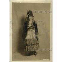 1919 Press Photo Olga Eucharren, Washington Diplomatic Society Member
