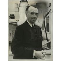 1934 Press Photo T.O.M. Sopwith - nef53522