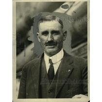 """1921 Press Photo Captain """"Marty"""" Welch, Skipper of the Elsie - nef53523"""
