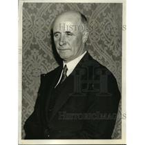1935 Press Photo Prof.Donald MacMillan American Arctic Explorer  - nef55160