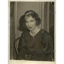 1933 Press Photo Kay Lawrence - nef55253
