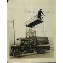 1924 Press Photo D.S.R. Radio Equipment - nef58675