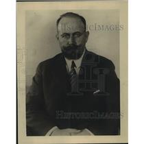 1921 Press Photo Guatemala Foreign Minister Luis Aguirre - nep02081