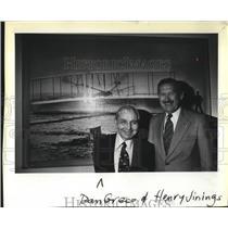 1979 Press Photo Dan Greco awarded life time membership in the Aero Club