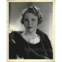 """1941 Press Photo Actress Cora Witherspoon In """"George Washington Slept Here"""""""