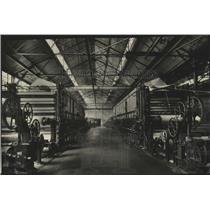 1928 Press Photo Mechanical Department Spokesman Review Newspaper - spx12463