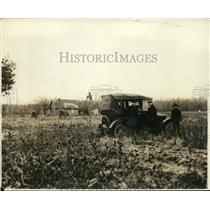 1919 Press Photo Site of Mystery Car in Billy Dausey Disappearance - nef52175
