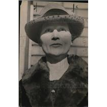 1920 Press Photo Annie Cutts, wife of Abbeville, GA attorney - nef52616