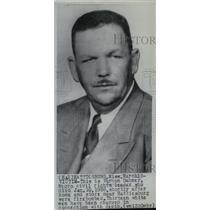 1968 Press Photo Vernon Dahmer, Civil Rights Leader of Hattiesburg, Mississippi