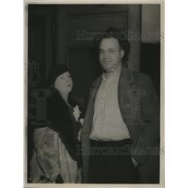 1937 Press Photo Mr & Mrs Lapsley M. Wyatt - nef56567