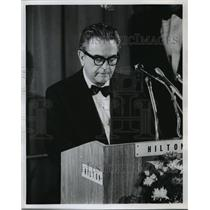 1973 Press Photo Sirica speaking to members of the American Judges Association