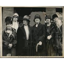 1928 Press Photo Women' sNational Democratic Club Mrs Wilbur Hubbard - nep00122