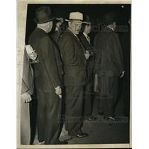1935 Press Photo US Communist Part chief Earl Browder in NYC - nep00968