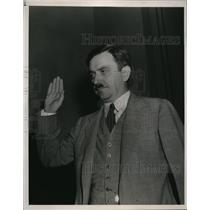 1938 Press Photo US Communist Party, Earl Browder Presidential candidate