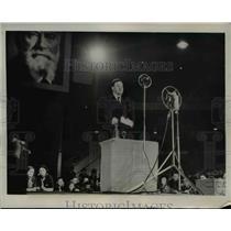 1936 Press Photo Maurice Thorez French communist chief speech in Paris
