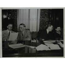 1935 Press Photo Preston Thomass warden Ohio State Pen., DB Ulrey - nep02587