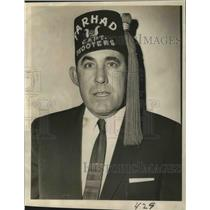 1969 Press Photo Paul C. Adolph is newly installed captain of Farhad Grotto Unit