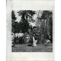 1970 Press Photo Mountain Men Rendezvous - orb81459