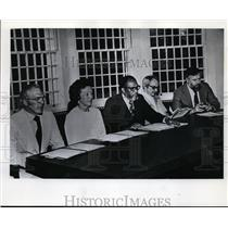 1976 Press Photo Oregon Parole Board - orb81929