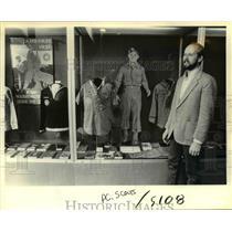 1985 Press Photo Tim Mayfield Boy Scout Uniform Oregon Historical Society