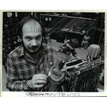 1983 Press Photo Leather, James Marshall, Brian L. Dahl - orb90654
