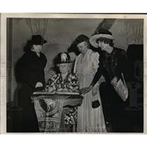 1973 Press Photo Portland Woman's Club members-golden jubilee celebration