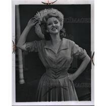 1960 Press Photo Actress Celeste Holm - nef58477