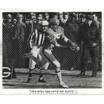 1974 Press Photo Haven Moses, Denver Bronco Wide Receiver Football - spx12783